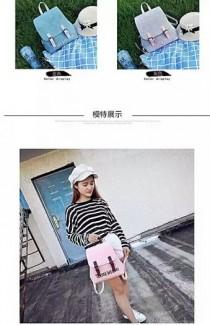 Ba lô dạo phố dễ thương kiểu dáng Hàn Quốc