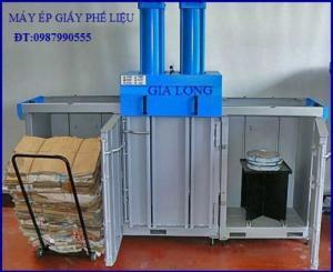 Giới thiệu máy ép kiện vải sản xuất tại công nghệ gia long