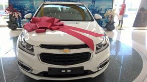 Hot - Ông già Noel sẽ phát quà khi mua xe Chevrolet Cruze 2017 tại Chevrolet Trường Chinh, hỗ trợ ngân hàng toàn quốc