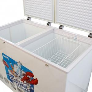 Tủ đông Sanyo SF-CR21K(W) có thiết kế 2 ngăn rất tiện lợi với ngăn đông bạn có thể bảo quản các thực phẩm tươi sống, thực phẩm đông lạnh và ngăn còn lại là ngăn mát cho người dùng thoải mái lưu trữ các loại nước giải khát.  Công nghệ phôi nhựa cao cấp, có độ bền cao giúp kéo dài tuổi thọ của tủ đông và an toàn cho sức khỏe của người dùng.