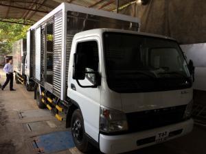Xe tải mitsubishi fuso canter 6.5w 3.5T thùng kín