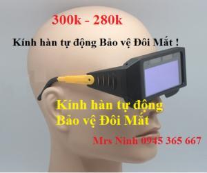 Kính hàn tự động bảo vệ mắt