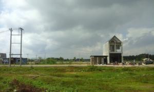 Đất nền vừa mới làm xong hạ tầng, ,lên thổ cư, phân lô, giá đầu tư.