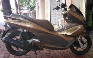 Bán xe Honda PCX, BS Vũng Tàu, 2012, Vàng đen, ODO 20,000 km