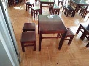 Ghế gỗ chân sắt giá rẻ