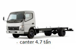 Canter4.7 tải trọng 1 tấn 9, xe tải chạy trong thành phố liên hệ ngay để có giá ưu đãi