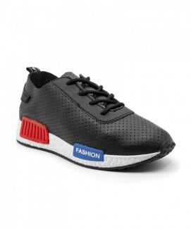 Giày nữ Sneaker xám đậm viền trắng MSN8068