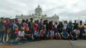 Đoàn tham quan Tòa nhà Quốc hội (Thailand )