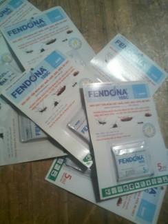 Thuốc diệt muỗi gián và côn trùng fendona