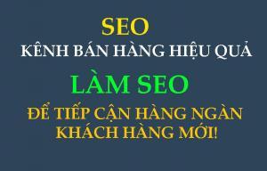 Nhận làm SEO từ khóa, quảng cáo trên Internet