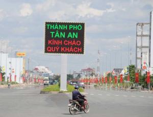 Thành phố mới Tân An. Khu đô thị sầm uất bậc nhất Long An.