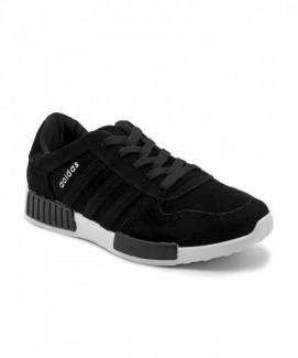 Giày nữ Sneaker đen đế trắng MSN8103