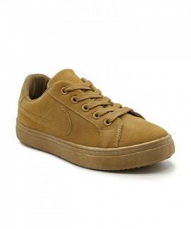 Giày nữ Sneaker vàng đồng MSN8115