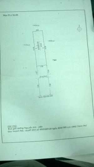 Bán Nhà MTKD Nguyễn Sơn, DT: 4 x 14.3M, 1 Lầu, Giá: 5.6 Tỷ