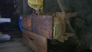 Máy cắt gỗ có cả bào