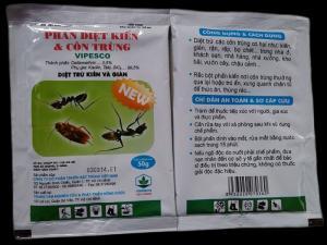 Bột phấn diệt kiến và côn trùng