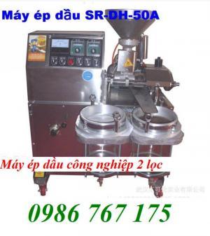 Máy ép dầu công nghiệp 6yl-60 giá rẻ nhất, máy ép dầu 30kg/h