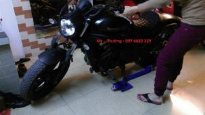 Hỗ trợ quay xe máy
