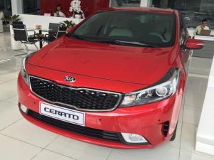 Bán xe Cerato 2016, 2.0 AT,màu đỏ, số tự động, giao xe ngay, hỗ trợ trả góp 80% giá trị xe