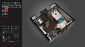 Bán căn hộ văn phòng Officetel Quận 7 giá chỉ 800 triệu/căn cam kết cho thuê lại 120tr/năm