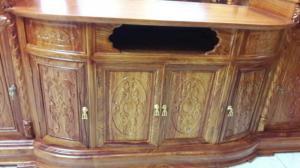 Tủ tivi gỗ hương mặt bầu-TTV20