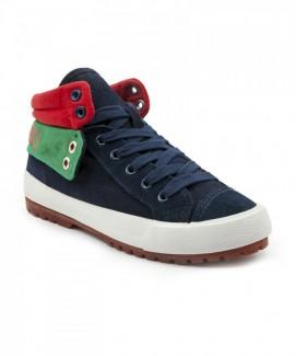 Giày nữ Sneaker xanh đế trắng MSN1106