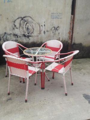 Bộ ghế bông tròn
