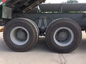 Xe ben 6x4 chân HOWO 12la nhip  thùng siêu dày, đáy thành 10mm, thành thùng 8mm