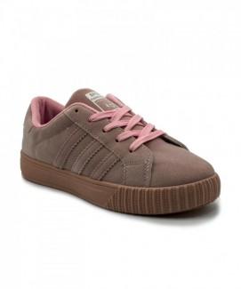 Giày nữ Sneaker nâu MSN8006