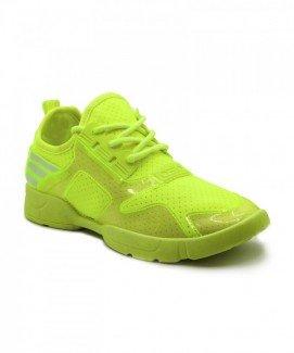 Giày nữ Sneaker xanh dạ quang MSN1712