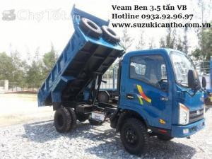 Xe ben Veam 3.5T/3T5/3.5 tấn, đời 2016