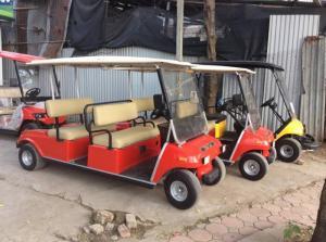 Bán xe điện chở khách club car mới 95% giá rẻ...