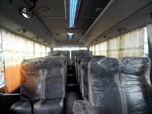 Chuyên bán xe 29 ghế thân dài tracomeco giao ngay