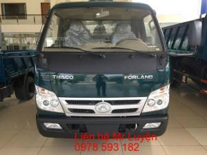 Xe Ben Thaco FORLAND FLD420C 4,2 tấn 2017, giá tốt