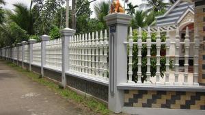 Hàng rào trụ tháp