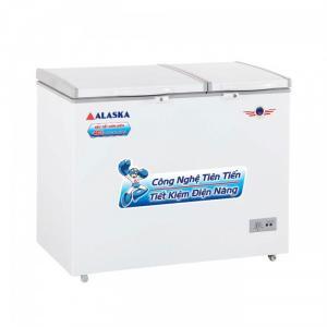 Tủ đông mát Alaska BCD-3071, ngăn đông lớn hơn ngăn mát