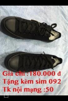 Giày  giá rẻ,mua 1 đôi giày tặng 1 sim 092