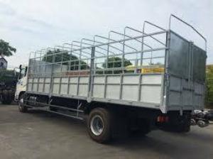 Bán xe tải thùng khung mui việt trung 9 tấn 5 giá hấp dẫn