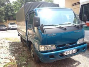 Xe tải Thaco frontier 140  vào phố giá cạnh tranh nhất thị trường Hà Nội