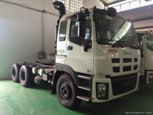 Đầu kéo Isuzu 2 cầu EXZ, xe đầu kéo Isuzu nhập khẩu Nhật Bản