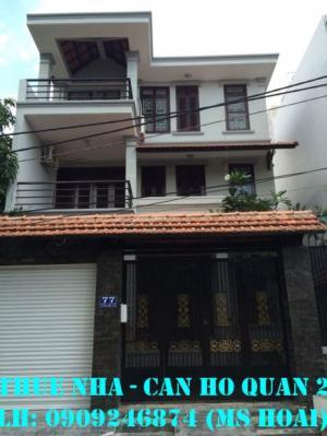 Cho thuê nhà phố Bình An, 4x16m, trệt 2 lầu, 4PN nhà đẹp Giá 17tr/tháng