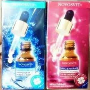 NOVOSVIT huyết thanh đậm đặc collagen tươi và axít hyaluronic acid (dược mỹ phẩm)