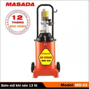 máy bơm mỡ khí nén masada md55, bơm mỡ bò chuyên dụng, bơm mỡ nhớt khí nén