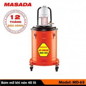 máy bơm mỡ bò khí nén masada md 65 - 40 lít