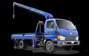 Giá mua bán Xe thaco hyundai hd650 gắn cẩu tải trọng 4 tấn 8 tại Bà Rịa Vũng Tàu