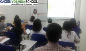 Lớp học tiếng Nhật tại trung tâm Kaizen Yoshida Vũng Tàu