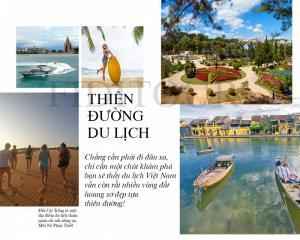 Không nên bỏ qua những điểm du lịch đẹp nhất Việt Nam