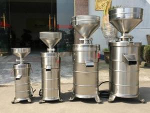 Cơ sở cung cấp máy xay-vắt sữa đậu nành, máy làm đậu hũ công nghiệp giá rẻ