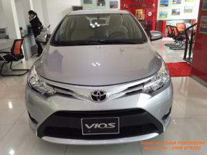 Toyota Vios 1.5E model 2017 trả trước 80tr, Tháng 9 bán xe giá vốn