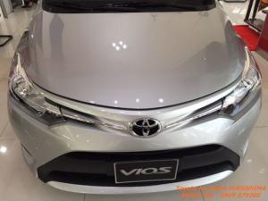 Toyota Vios 1.5E model 2017 luôn có xe giao ngay, giảm lớn từ 30-50tr